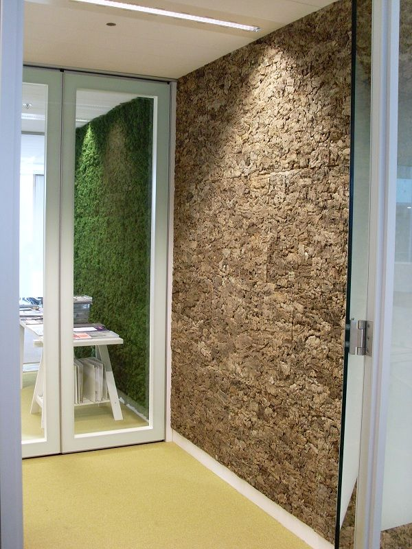 greenwall and cork akoestiek fabriek wall pinterest akustik raumgestaltung und. Black Bedroom Furniture Sets. Home Design Ideas