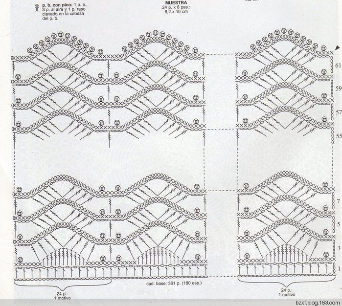 Delicadezas en crochet Gabriela: 2 Modelos de cortinas | CROCHET ...