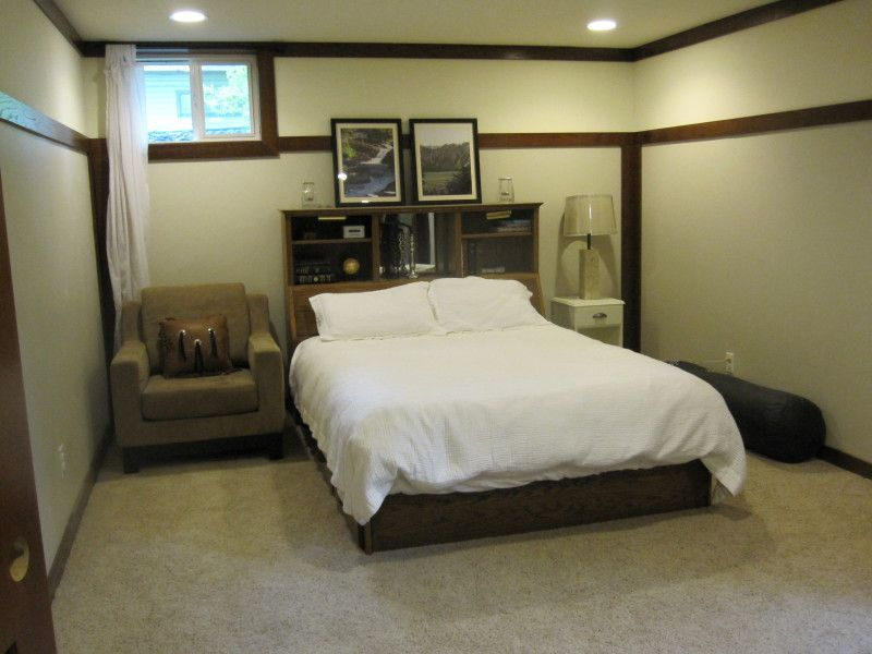 Basement Remodeling Ideas Bedroom small bedroom for basement with design ideas and white color