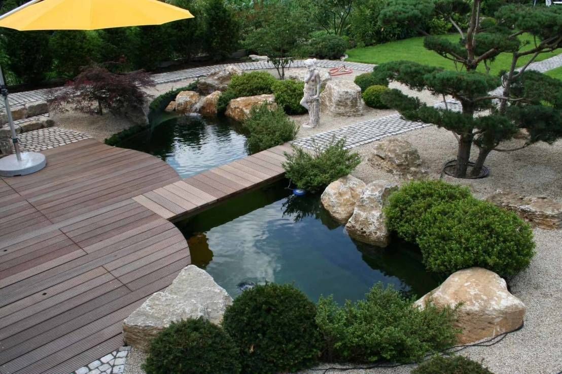 gr ne oase in wenigen schritten zum eigenen teich gartengew hl pinterest koi teiche. Black Bedroom Furniture Sets. Home Design Ideas