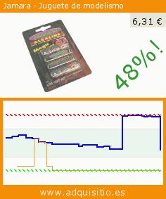 Jamara - Juguete de modelismo (Juguete). Baja 48%! Precio actual 6,31 €, el precio anterior fue de 12,14 €. https://www.adquisitio.es/jamara/140095-15-v-pilas-aa