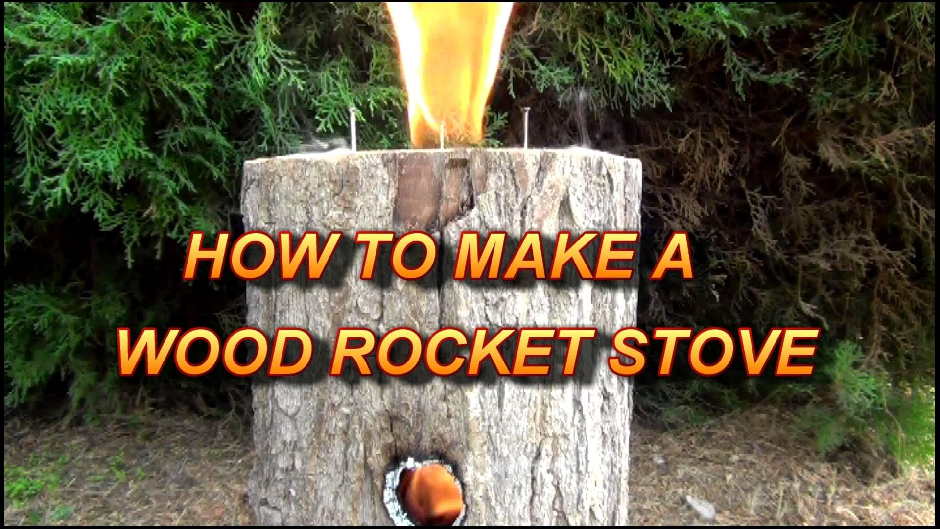 Quot Stove Secrets Quot Ep7 How To Make A Wood Rocket Stove