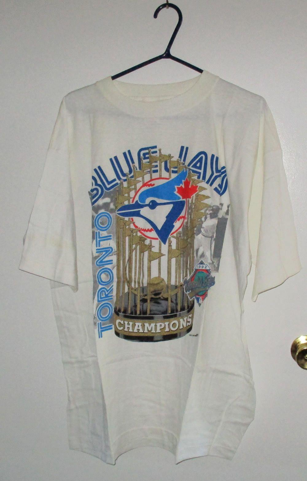 Vintage Baseball Sports Memorabilia Toronto Blue Jays T