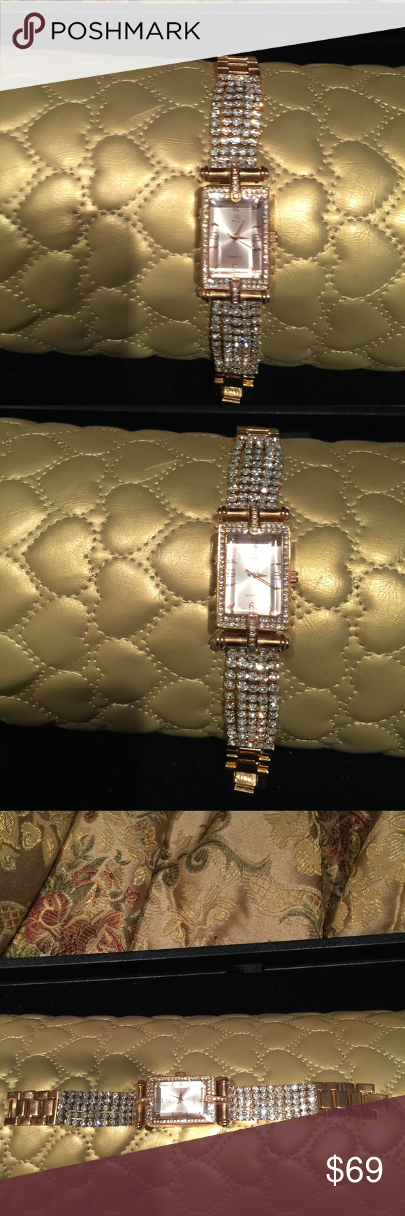 Authentic Victoria Wieck Gorgeous bling bling watch, never been used!!! All sales are final.... Accessories Watches