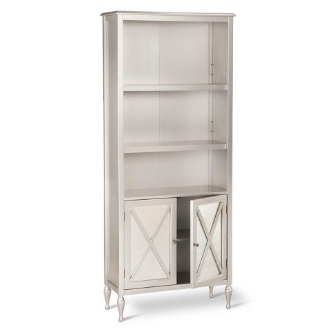 Hollywood Book 5 Shelf Bookcase with Storage - Hollywood Mirrored Bookcase Office Ideas Pinterest Hollywood