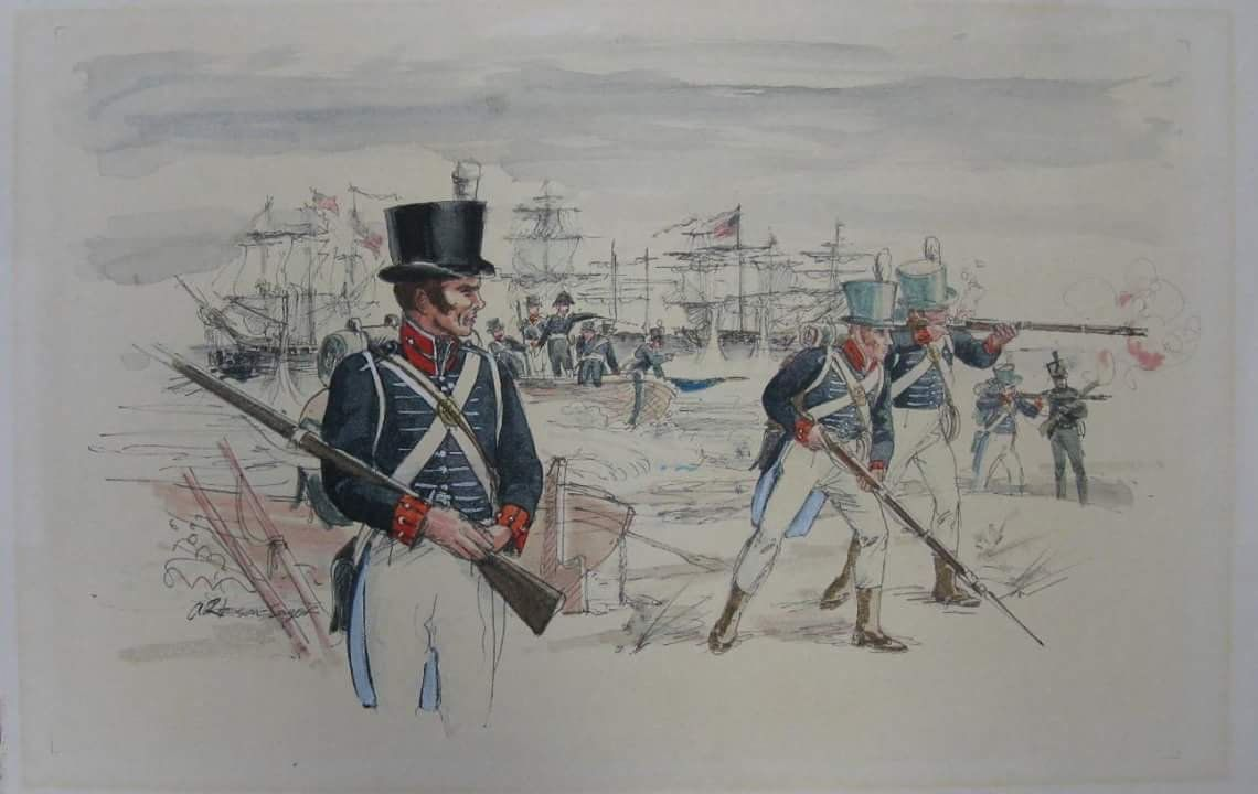 American Landing At The Battle Of York Fought On April 27 1813 In York Present Day Toronto The Capital Of History War War Of 1812 Social Studies Projects