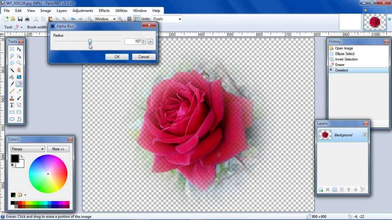 paint.net invert selection