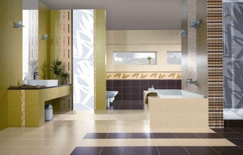 Salle de bain beige - idées de carrelage, meubles et déco - salle de bains beige