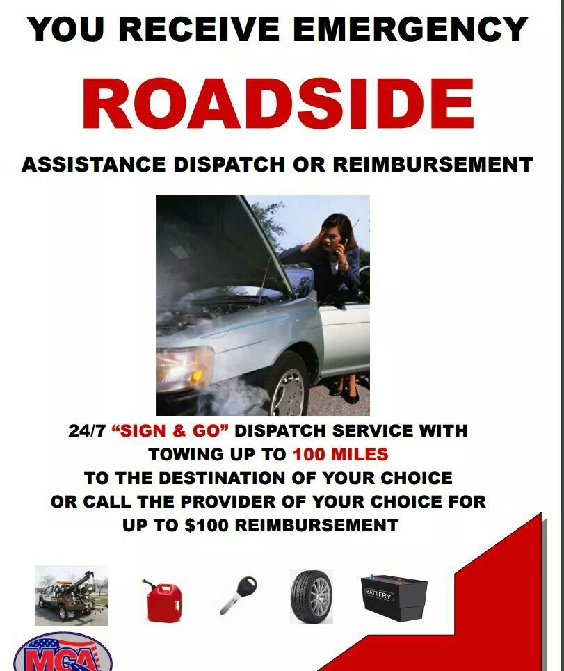 86 Years Experience Roadside Assistance Roadside Mca