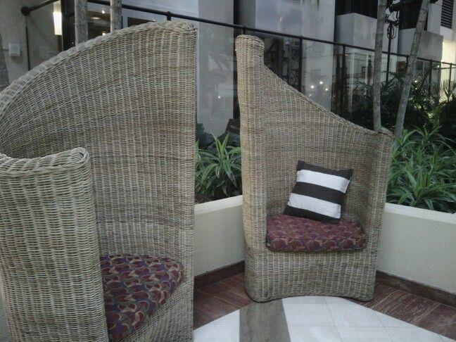 Chairs away