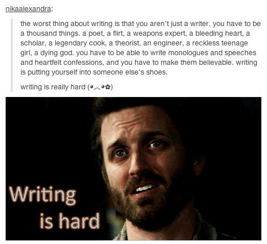 The Life of a Writer
