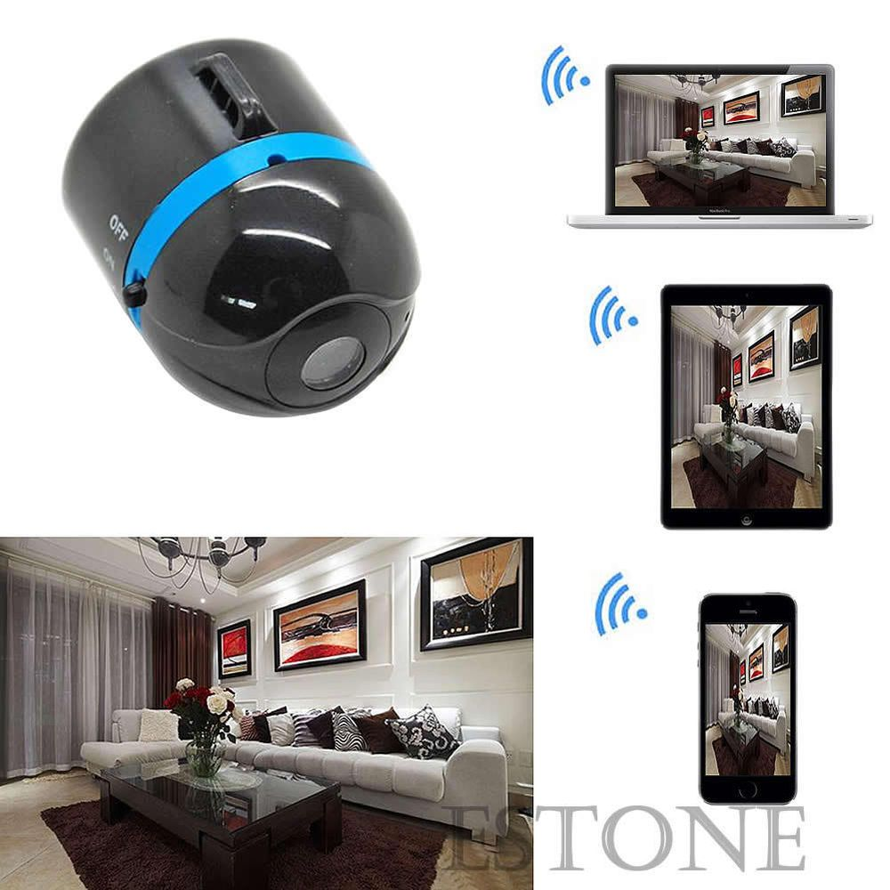 NEW Mini Wifi Remote Cam IP Wireless Spy Surveillance Camera For ... for Mini Spy Camera For Iphone  110zmd