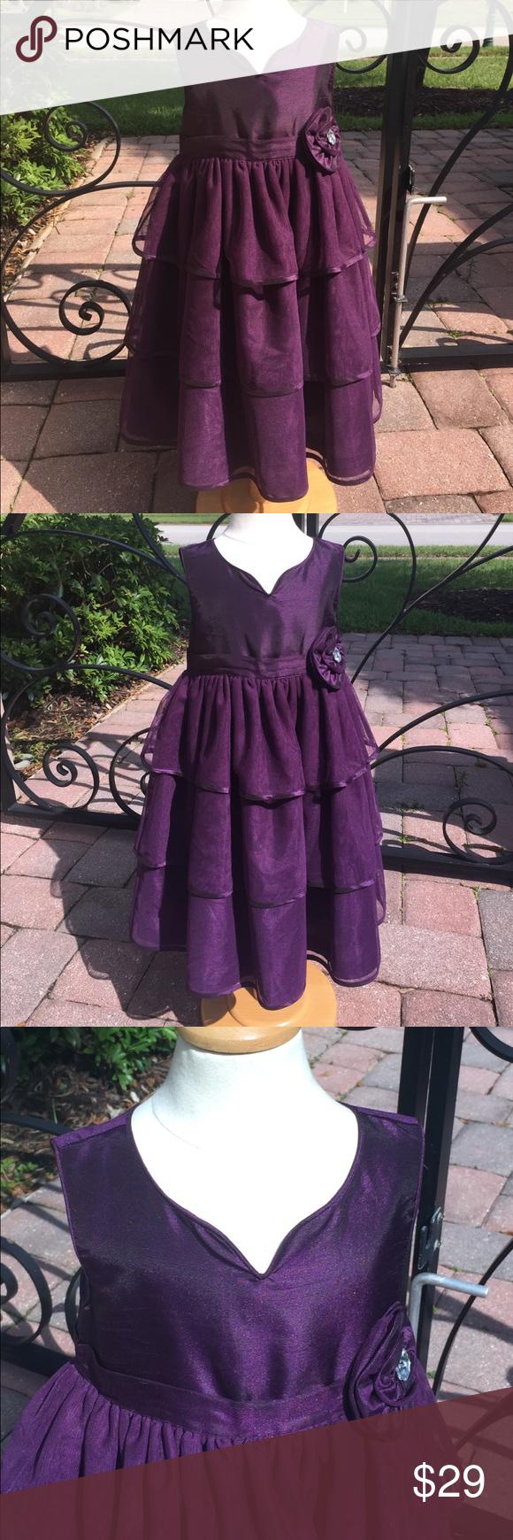 Tahari Girls Purple Special Occasion Dress 4t Special Occasion Dresses 4t Dress Dresses [ 1740 x 580 Pixel ]