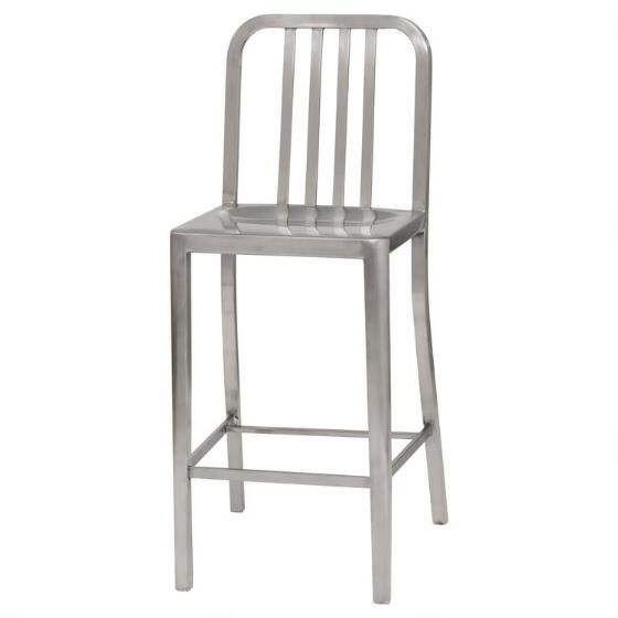 Magnificent Tempo Stool 26 Brushed Urban Barn Barstools Stool Foot Pdpeps Interior Chair Design Pdpepsorg