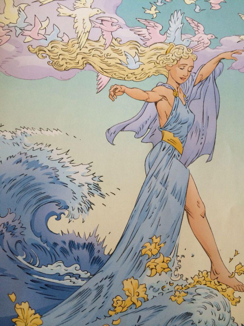 Aphrodite Goddess Of Love And Beauty Aphrodite Goddess