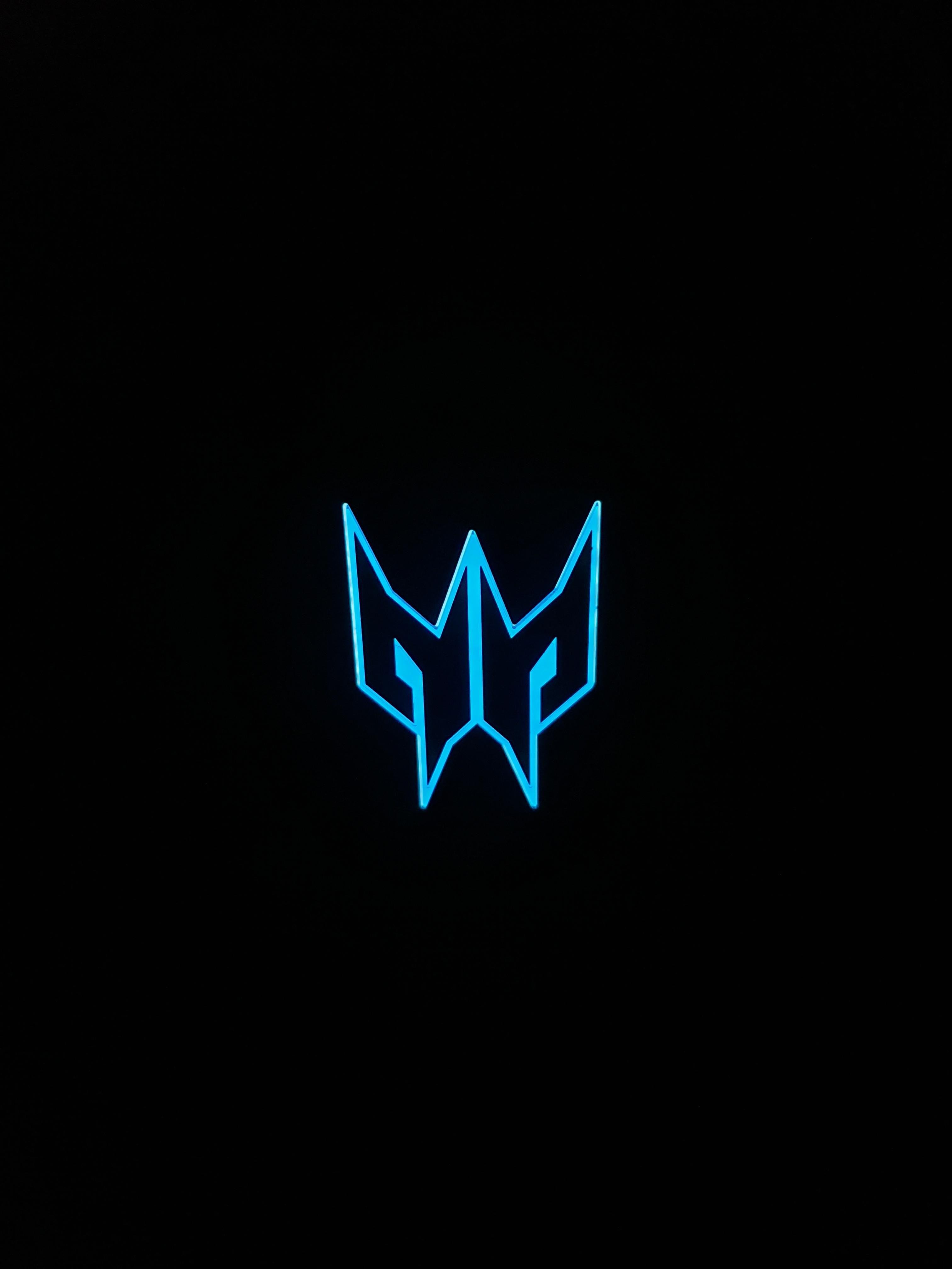 Dark wallpaper Acer predator logo (Dengan gambar)