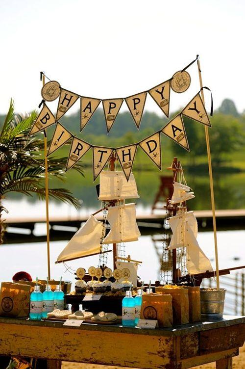 Fiesta pirata para ni os fiestas infantiles fiesta de for Decoraciones infantiles para ninos