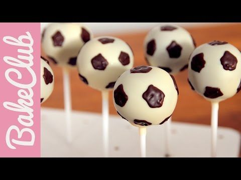 fu ball cake pops f r die n chste fu ball party anleitung videos yummy. Black Bedroom Furniture Sets. Home Design Ideas