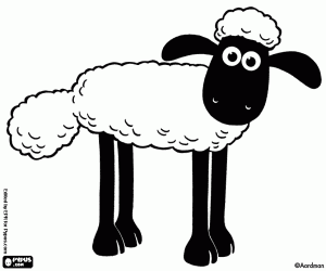 Image Result For Shaun The Sheep Coloring Pages