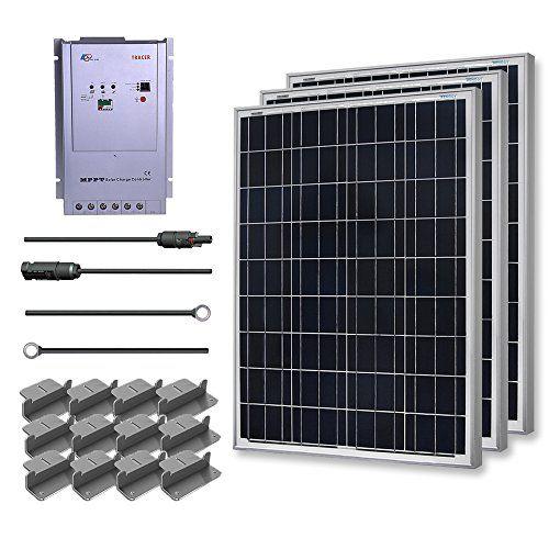 Renogy Premium Solar Panel Kit 300w Polycrystalline Off Grid 3pc 100w Poly Solar Panel Ul Listed 40a Mppt Solar Panels For Home Solar Panel Kits Solar Panels