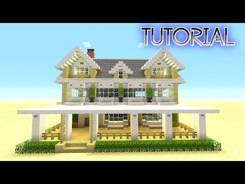 Minecraft Tutorial How To Make A Suburban House Big Survival HouseThis Episode Of Build Is Focused On Simple And Easy