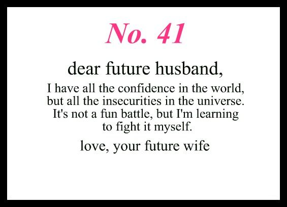 Love Notes To My Future Husband | The Future  is now | To my