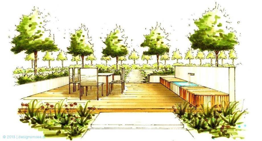 Drawing Ground Textures Garden Design Plans Landscape Design Drawings Landscape Plans