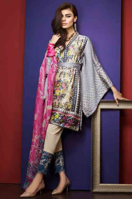 a6c5c4de3 New Summer Lawn Dresses For Pakistani Girls In 2019