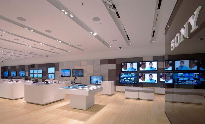 Sony Leap Westfield Store By Brand Allen Los Angeles Store Design