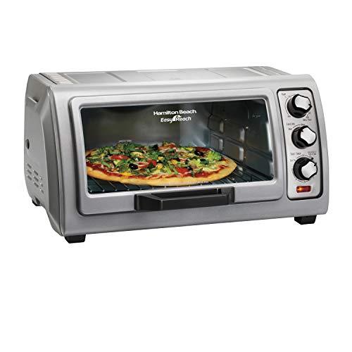 Hamilton Beach 6 Slice Countertop Toaster Oven With Easy Reach