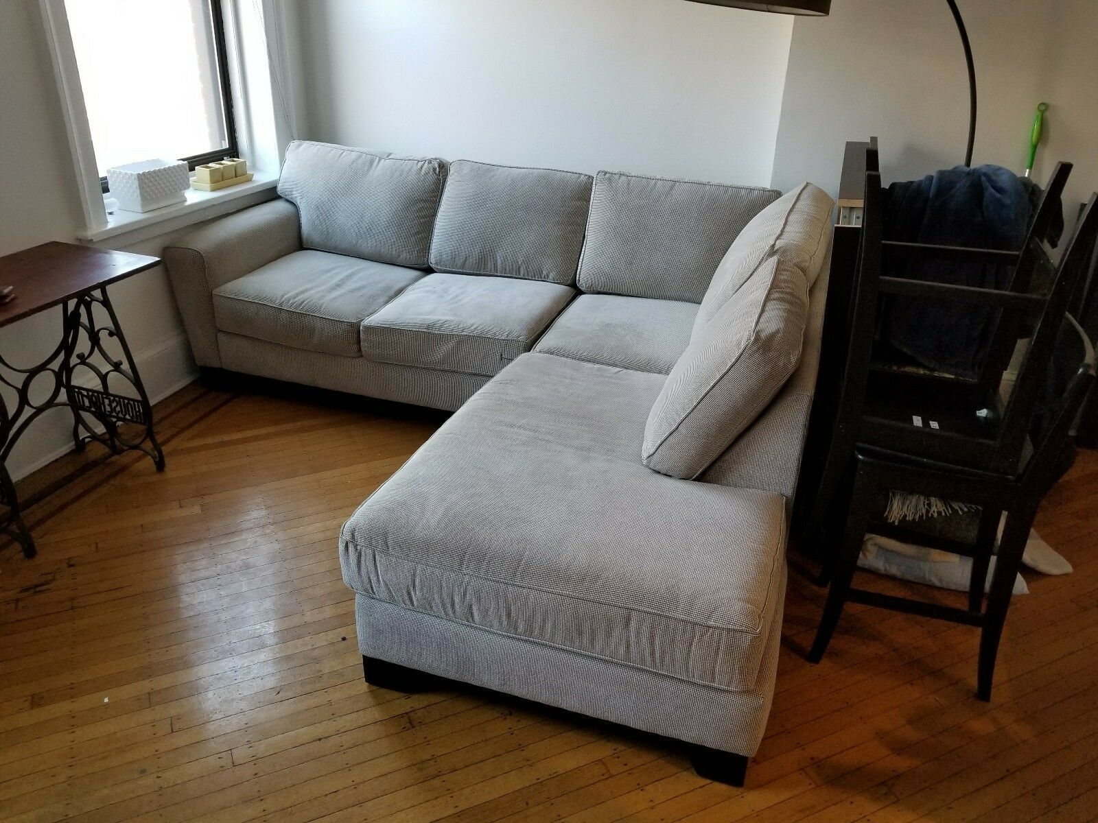 Groovy Modern Fabric Sectional Sofa L Shape Couch Wide Chaise Creativecarmelina Interior Chair Design Creativecarmelinacom