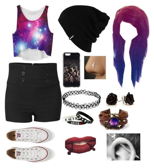 """""""Untitled #57"""" by grace-hobson on Polyvore featuring beauty, Converse and Patagonia"""