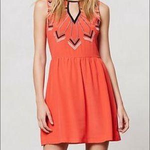 Anthropologie Dresses & Skirts - Anthropologie Chloe Oliver Embroidered Loire Dress