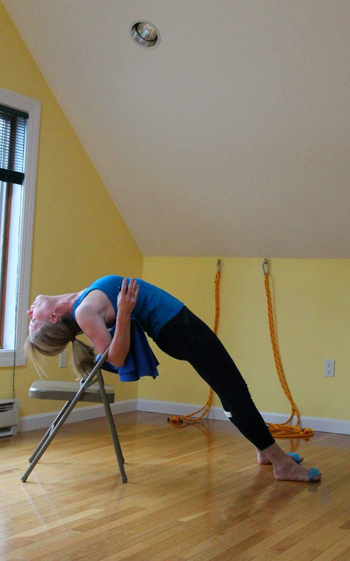 Urdhva Dhanurasana Iyengar Yoga