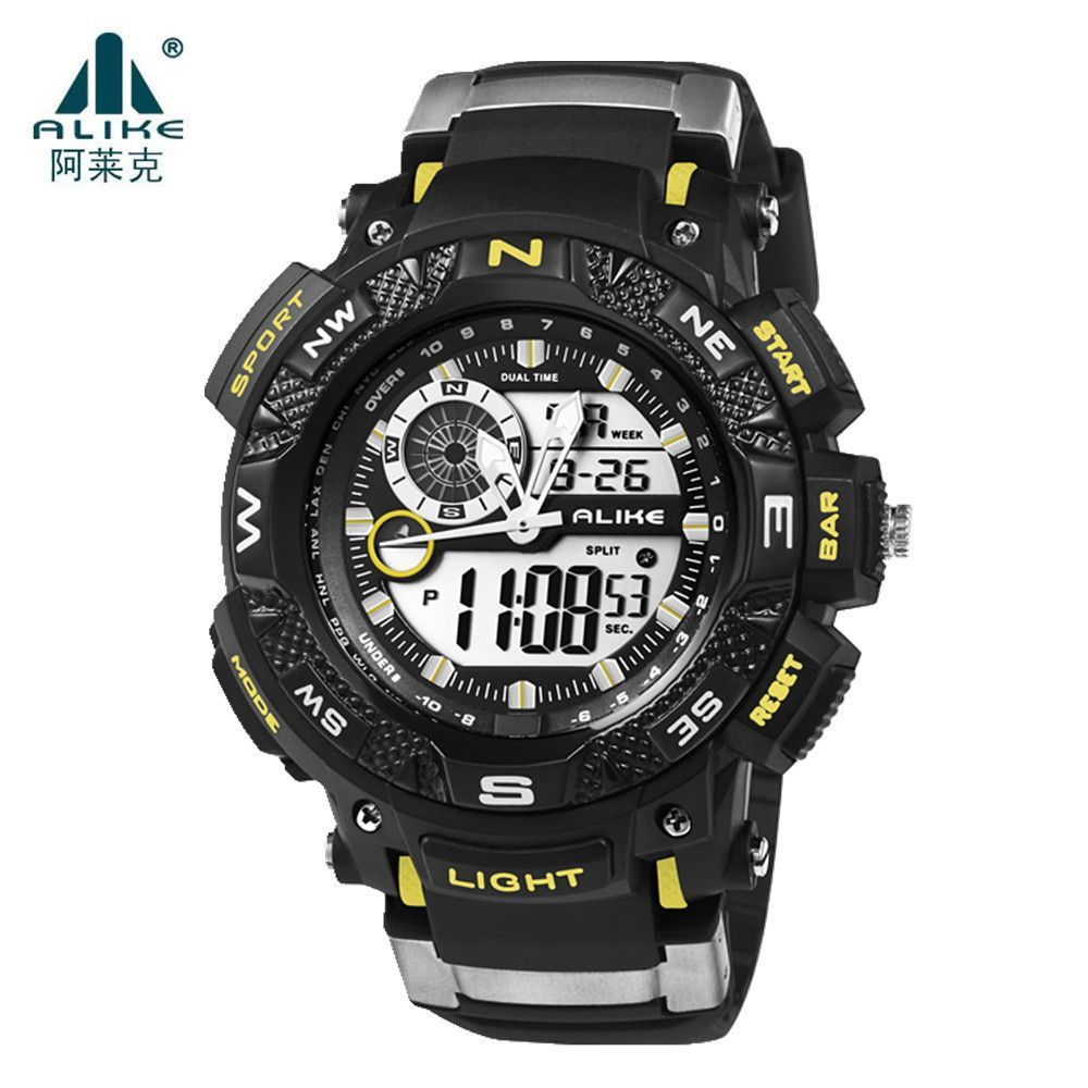 Digital Watches Top Brand Luxury Men Swimming Digital Led Quartz Outdoor Sports Watches Military Relogio Masculino Clock With Silicone Strap Colours Are Striking