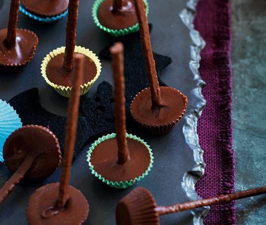 Witches\u0027 broomsticks Recipe Halloween Food and drink Pinterest - asda halloween decorations