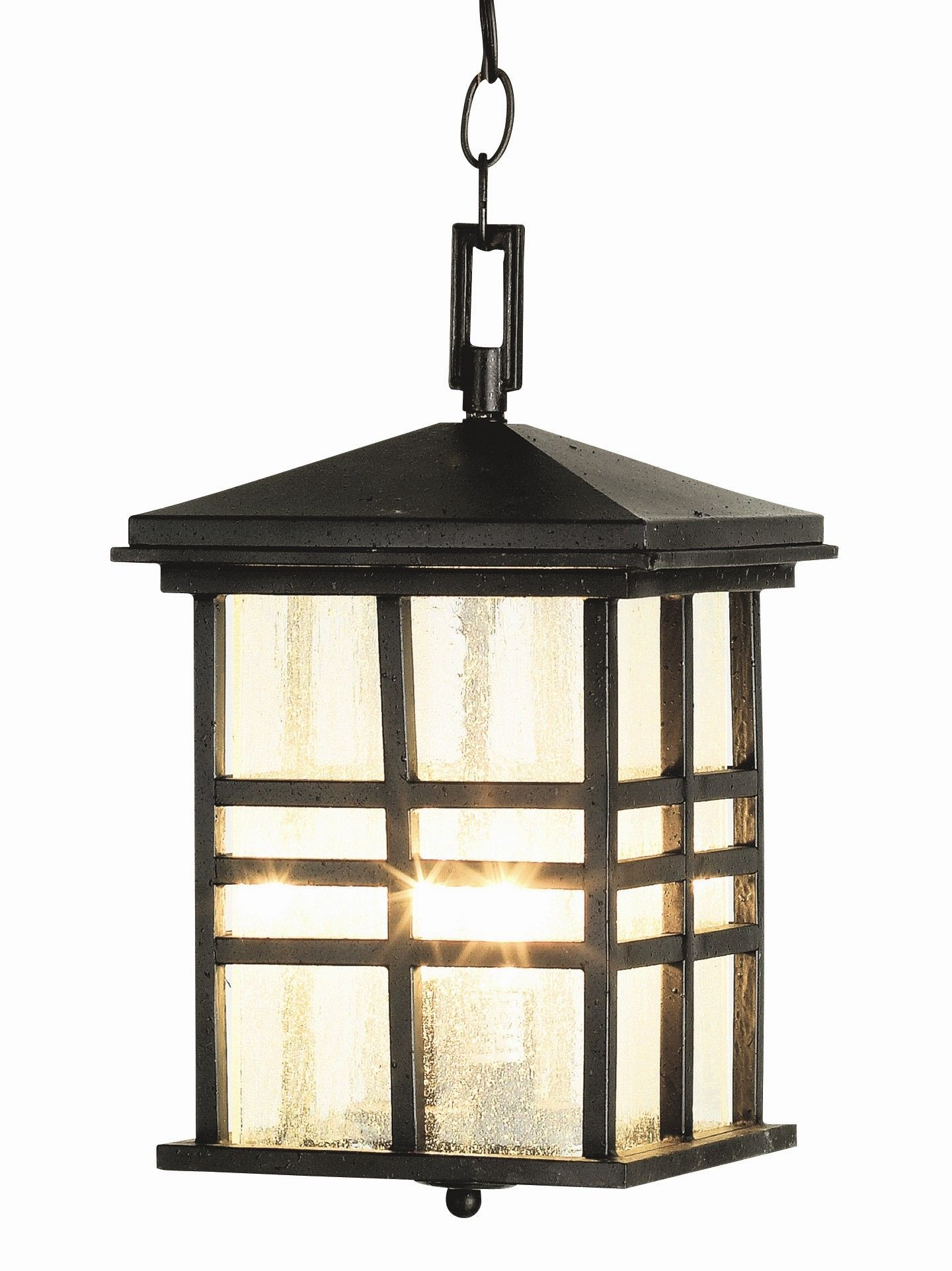 Trans Globe 4638 Rustic Craftsman Outdoor Pendant Rustic Craftsman Exterior  PendantA Rustic Mission Style Outdoor Hanging Lantern, Perfect For