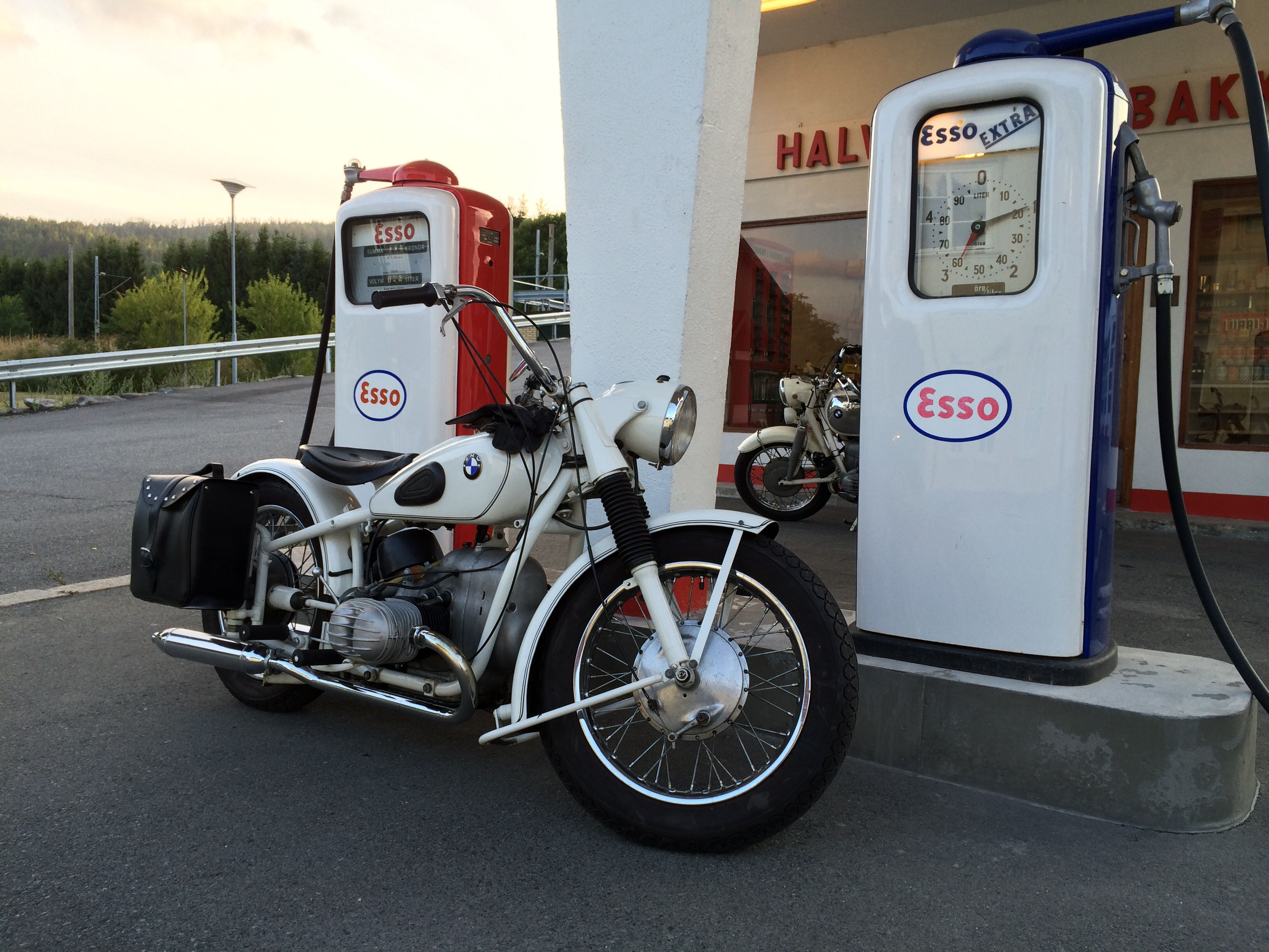 Vintage BMW R67 from 1951