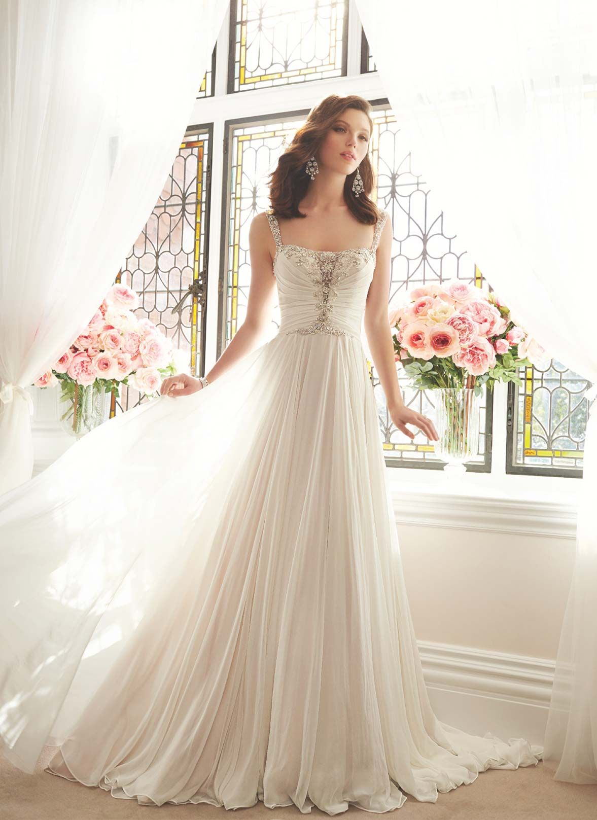 Sophia Tolli Y11644 | Sophia Tolli if only i could get it in the US ...