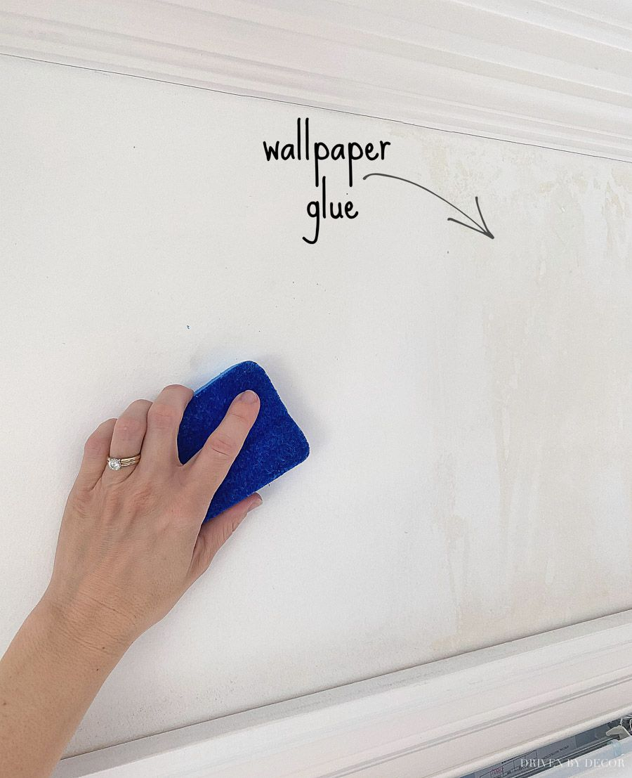 How To Remove Wallpaper Driven By Decor Removable Wallpaper Remove Wallpaper Glue Removing Old Wallpaper