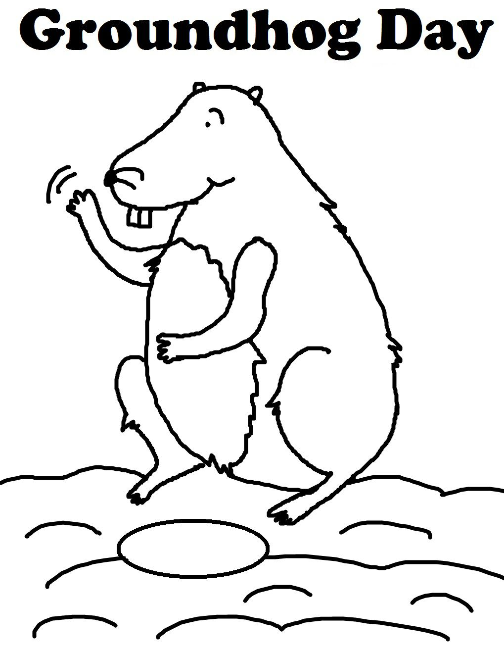Groundhog Day Worksheets Best Coloring Pages For Kids Mermaid Coloring Pages Coloring Pages Bird Coloring Pages