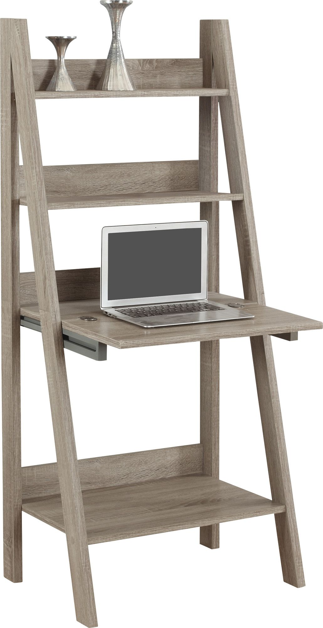 Shelby leaningladder desk shelves pinterest desks