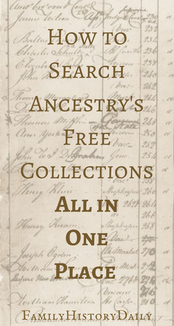 How to View Thousands of Free Records on Ancestry Without a Subscription #genealogy