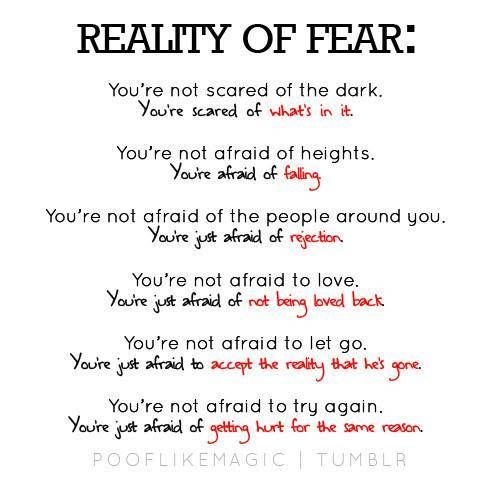 Philosophical Quotes Fear