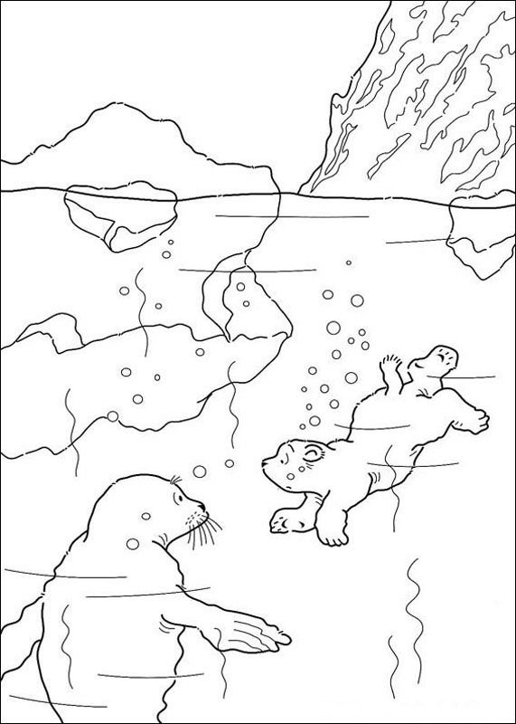 Lars the Little Polar Bear Coloring Pages 12  Color That Page