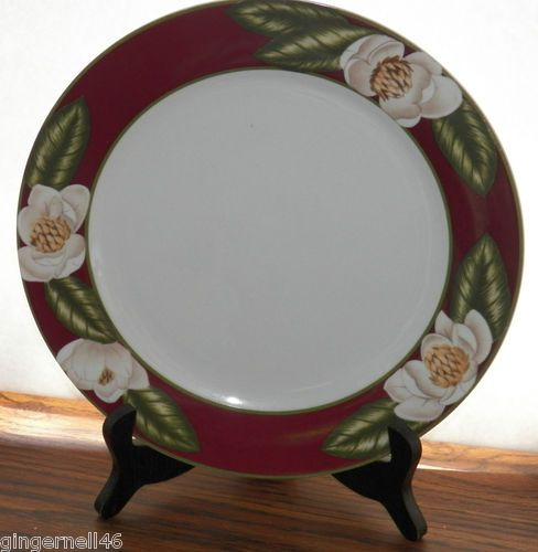 American Atelier Magnolia Blossom Dinner Plate Porcelain Replacement Piece free shipping $25.60