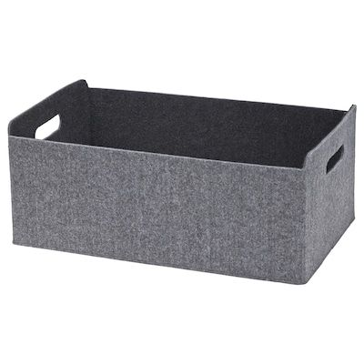 Besta Boite Gris 25x31x15 Cm Ikea Boite De Rangement Boite Ikea