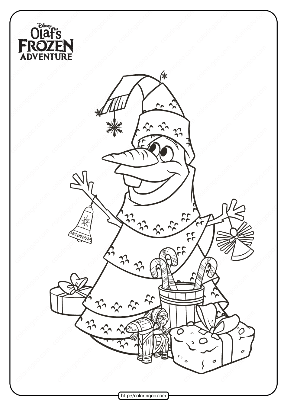 Disney Olaf S Frozen Adventure Coloring Pages 01 Disney Coloring Pages Disney Olaf Coloring Pages