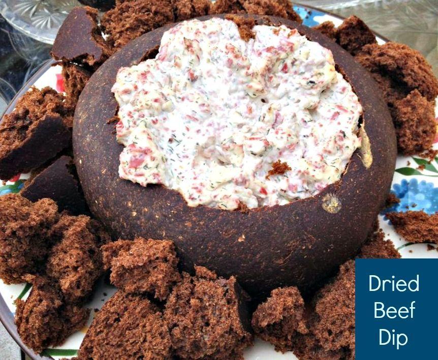 recipe: dried beef dip in bread bowl [3]