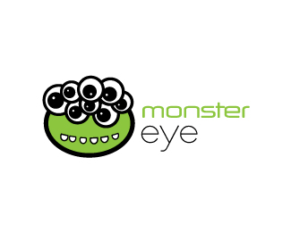 Brand name: M O N S T E R    E Y E  Description: very funky indeed  and nice use of green